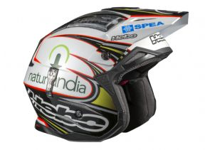 Hebo Toni Bou replica Trials Helmet black/white